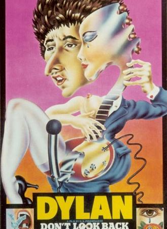Alan Aldridge - Don't Look Back with Bob Dylan, Joan Baez and Alan Price