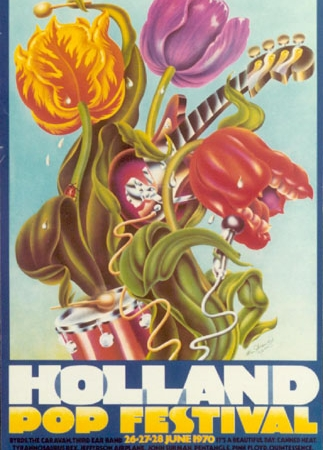 Alan Aldridge - Holland Pop Festival